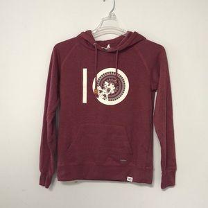 Tops - Ten tree burgundy hoodie sweatshirt pullover